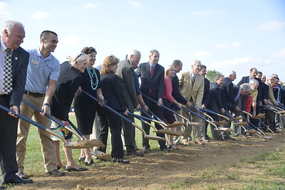 Breathitt Veterinary Center Groundbreaking