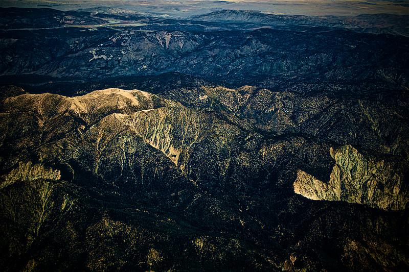 San Gabriel Mountain Range - Southern California, USA