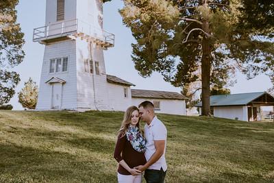 Casey & Jose Las Vegas Maternity Session