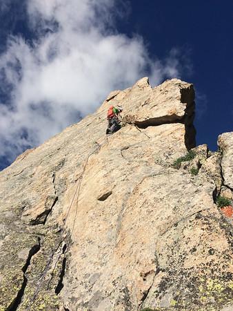 Ripsaw/Northeast Ridge of Arrowhead (12,642ft) in RMNP