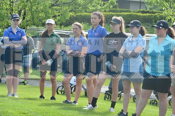 Section IX Girls Golf tournament