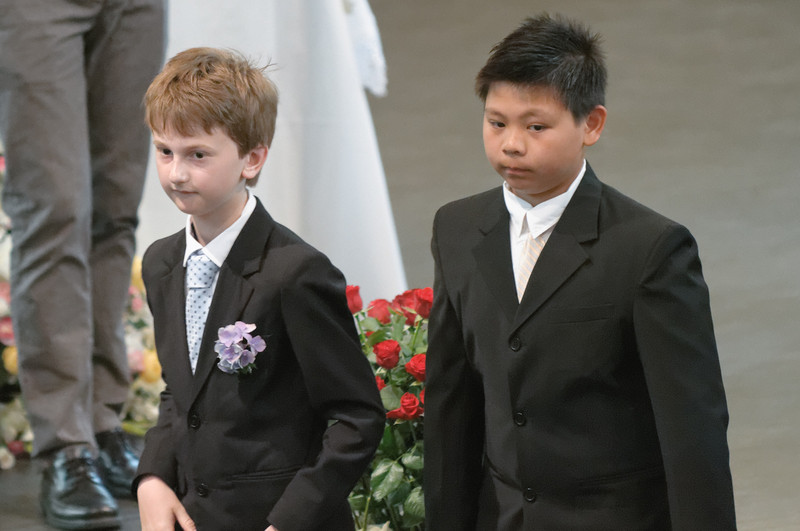Melvin (links) ist ein Freund von Richard.
