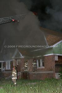 Flanders St. Fire (Detroit, MI) 7/28/07