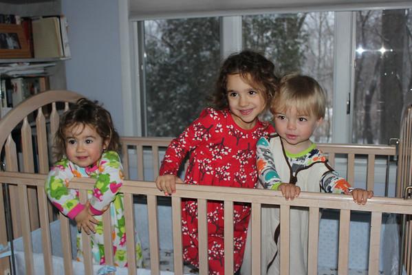 New York December 2013 Part 1 at Grandma and Grandpa's House