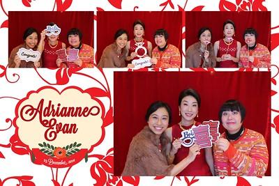 Adrianne & Evan Wedding 23rd Dec 2014