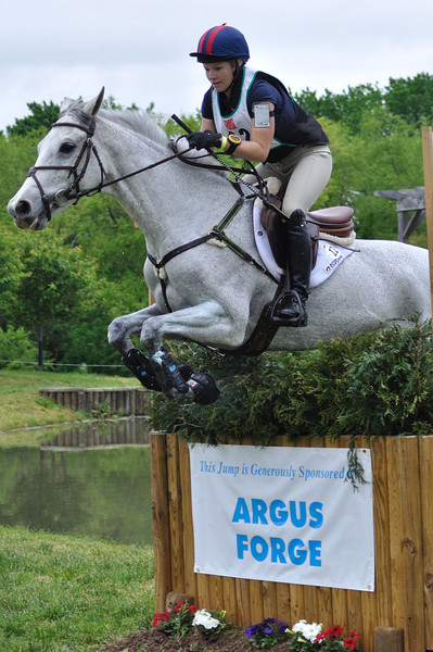 Caitlin Silliman and Catch A Star, Jersey Fresh CCI** 2011