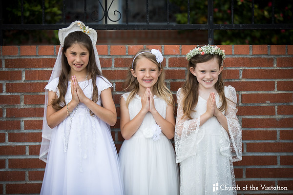 2018 First Holy Communion - Church of the Visitation