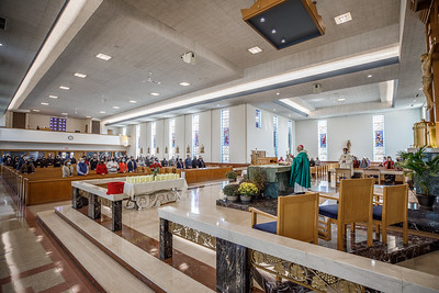 2020 Respect Life Mass (Saint Bridget of Sweden Church, Cheshire)