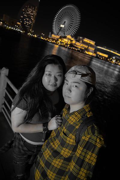 Juji and Chelsea