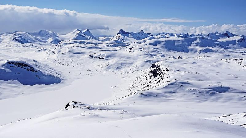 Utsikt fra Galdeberget