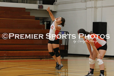 La Porte JV Volleyball vs Northshore 9/25/2012