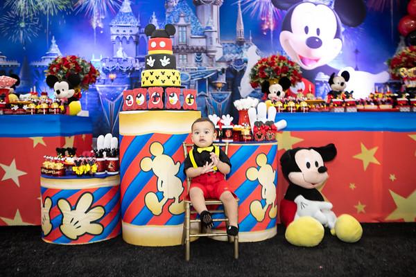 Aniversário 1 aninho Pedro - Mickey