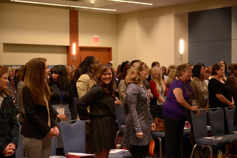 Jane Albright at the Women's Seminar