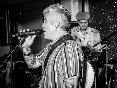 Tom Cat & The Zodiacs, Welsh Rockabilly 2018 B&W