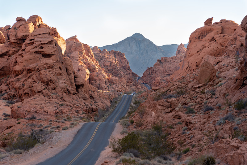 Mouse's Tank Road in Valley of Fire