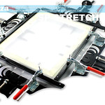 SKU: SP-STRETCHER/60,DIY 60×60cm Fast Clip Manual Stretcher for Silkscreen Screen Mesh Making