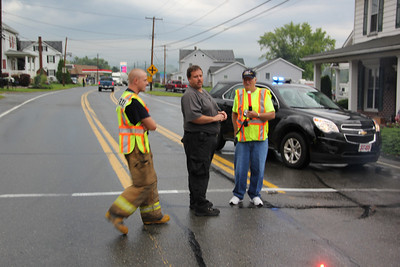 Downed Line Closes SR309, West Penn, Snyders (8-20-2012)