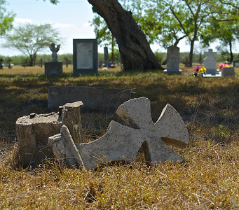 Old Cemetery in South Texas