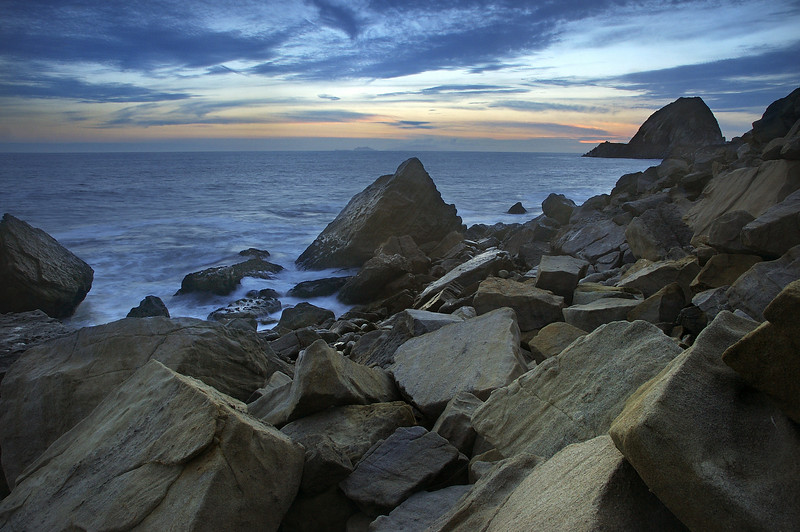 Point Mugu Rock Sunset