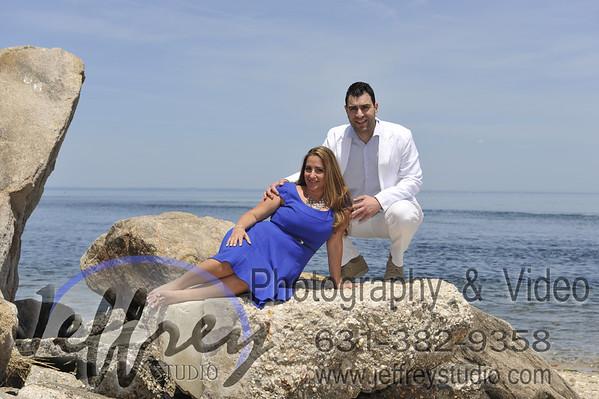 Kathy & Bill - Kings Park Bluff - June 1, 2014