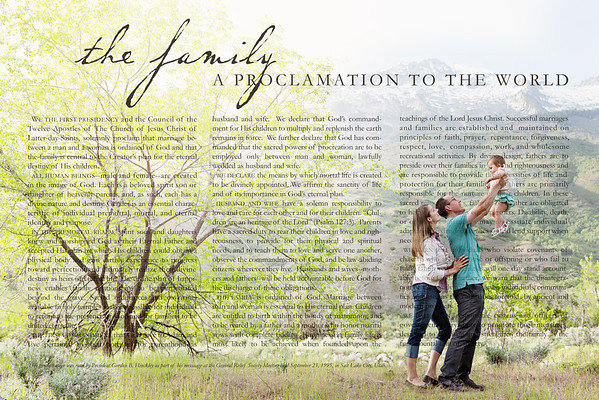 Proctor Family Proclamation