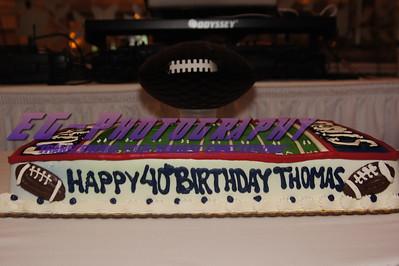 Thomas 40th Birthday Celebration