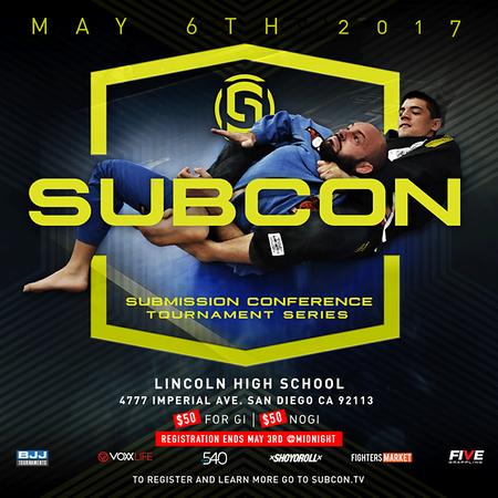 SUBCON SAN DIEGO OPEN 5.6.2017