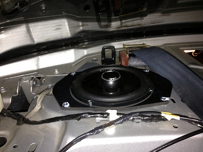 2003 Chevy Cavalier LS Rear Speaker Installation - USA