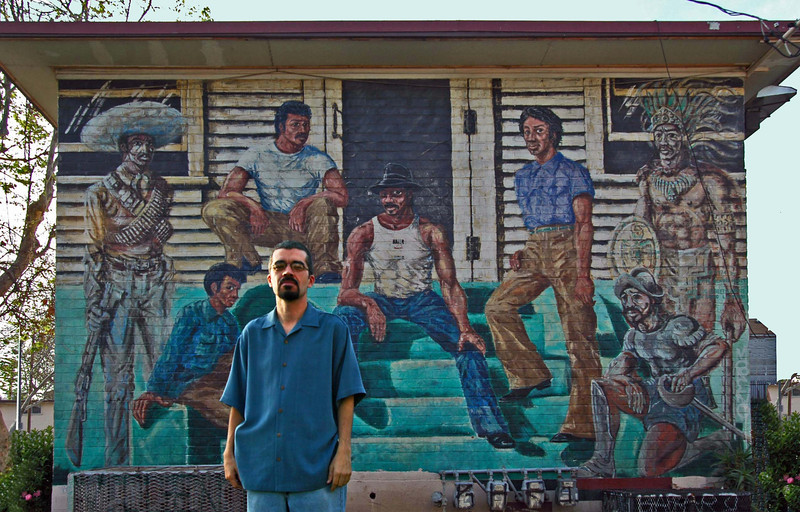 Alvaro Huerta, Ramon Gardens Mural, East LA
