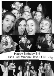Bri Photo Booth Birthday Party