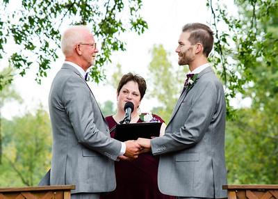 Dean & Matthew Wedding