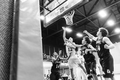 RCS Varsity Boys' Basketball vs CP - 01.14.2014