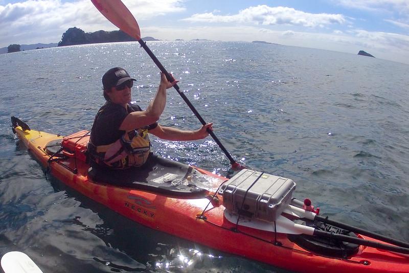 Hayden paddles away GP0087