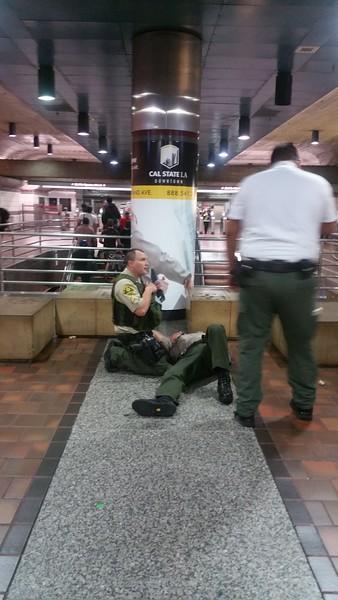 LA Metro incident