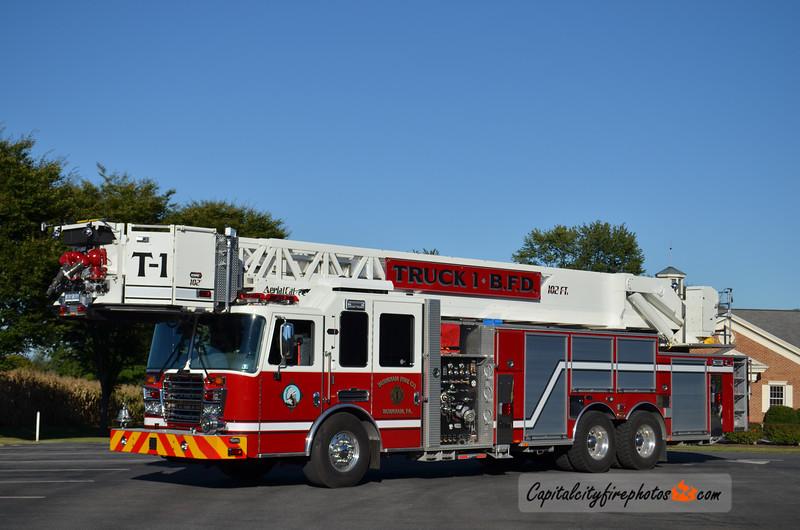 Burnham Fire Co. Truck 1: 2014 KME Predator 2250/300 102'