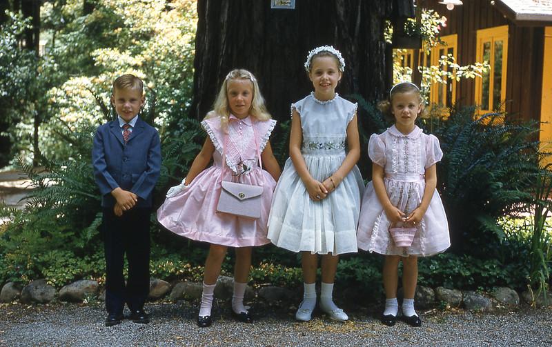 Grandkids at Turner-Reilly Wedding