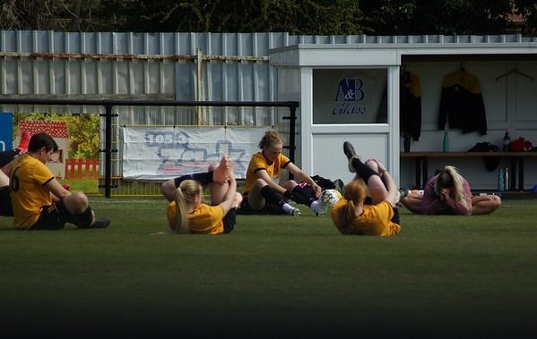 Mildenhall ladies footy