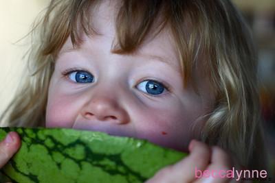 august 6. 2008 watermelon