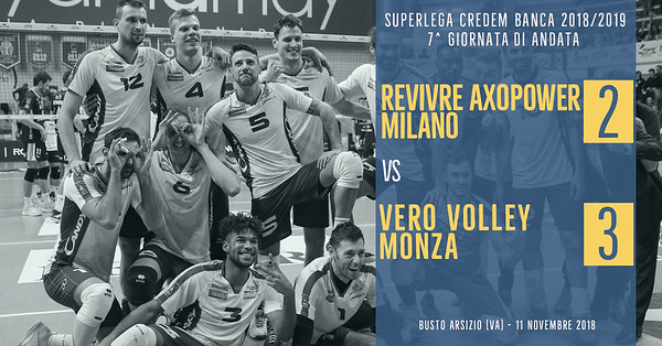 7^ And: Revivre Axopower Milano - Vero Volley Monza