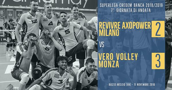 7^ And: Revivre Axopower Milano - Vero Volley Monza