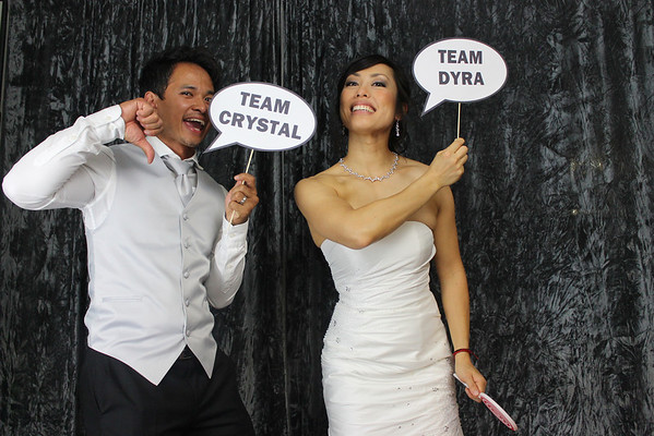 Crystal and Dyra Photo Booth Singles