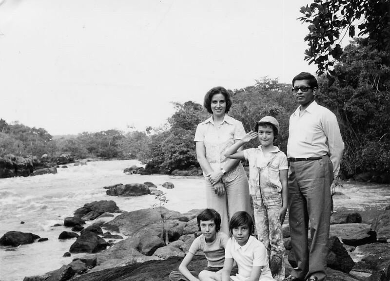 1973- no rio Luachimo