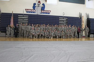 167th Welcome Home Warrior Ceremonh Jan 24