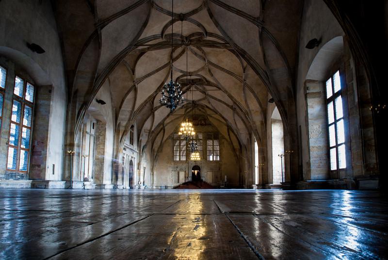 Vladislav Hall - Old Royal Palace - Prague Castle