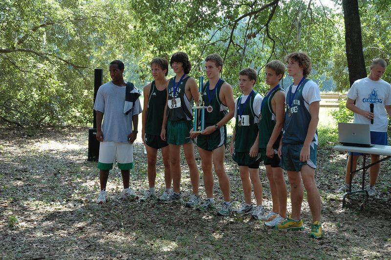 1st overall Boys' team, Lincoln.