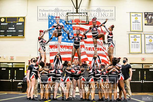 South Pointe Varsity Cheer 4A Qualifer