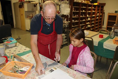 Clay and Pottery, Community Arts Center, Tamaqua (11-22-2014)