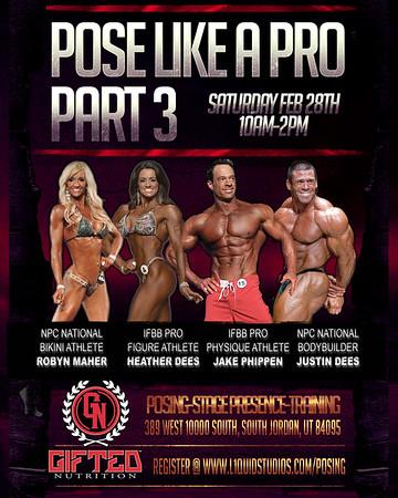 Pose Like a Pro Workshop: Part 3
