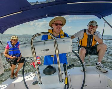 Sailing on Raritay Bay 2014