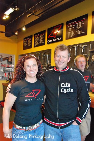 Christine Sodaro and Cory Farrer